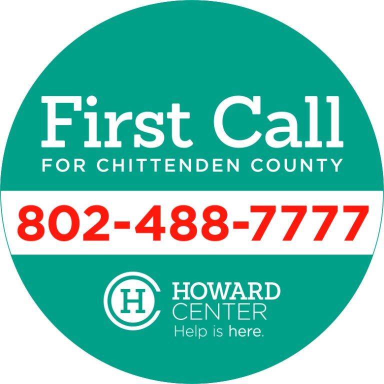 First Call for Chittenden County 802-488-7777