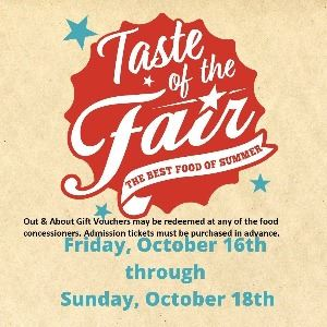 CVE Taste of the Fair