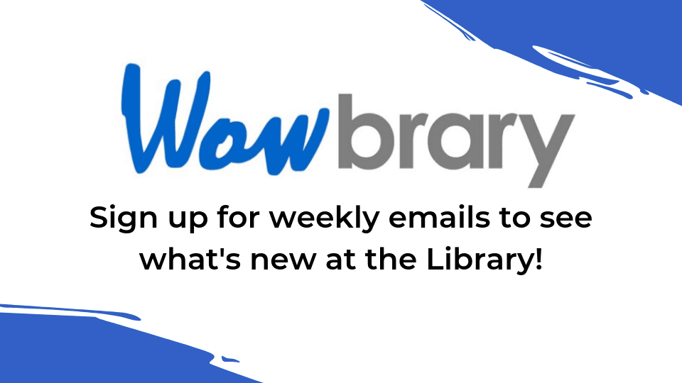 Sign up for Wowbrary